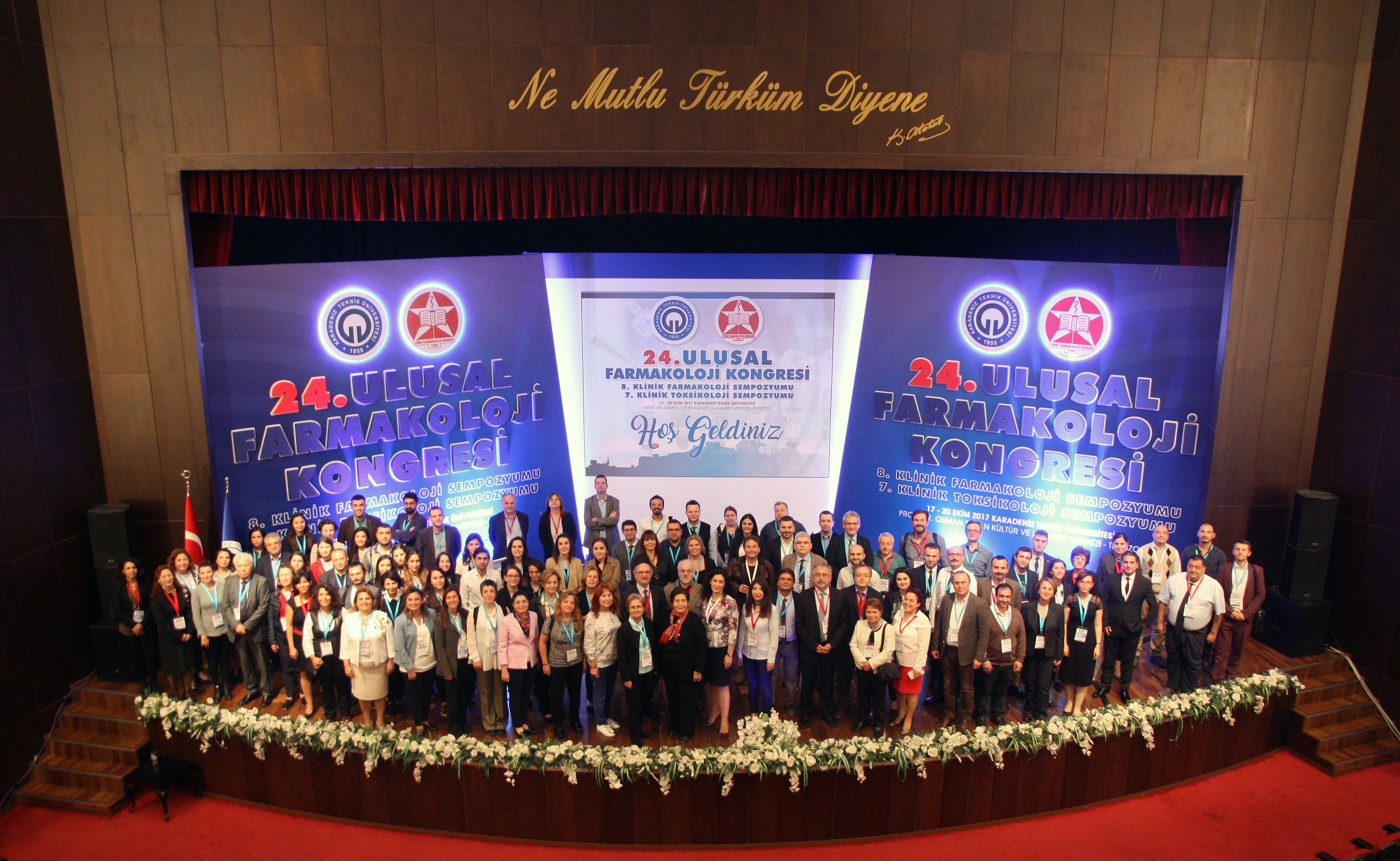 24. Ulusal Farmakoloji Kongresi tamamlandı